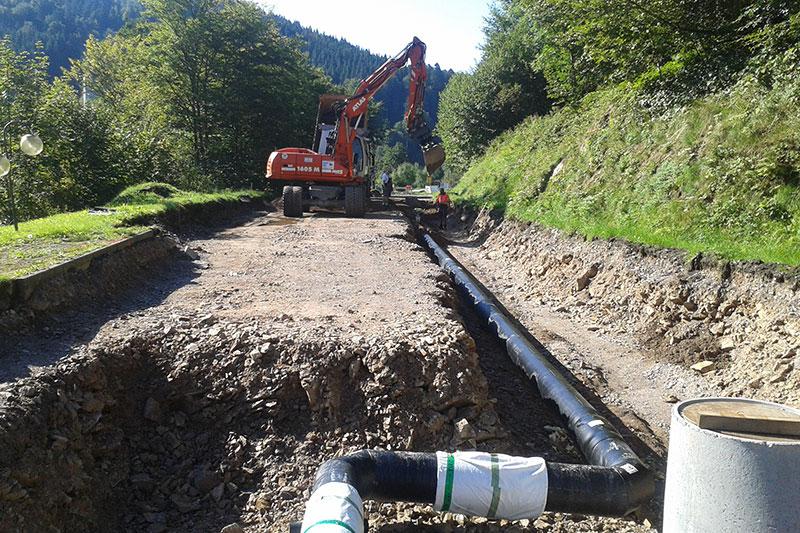 Wasserleitungsbau