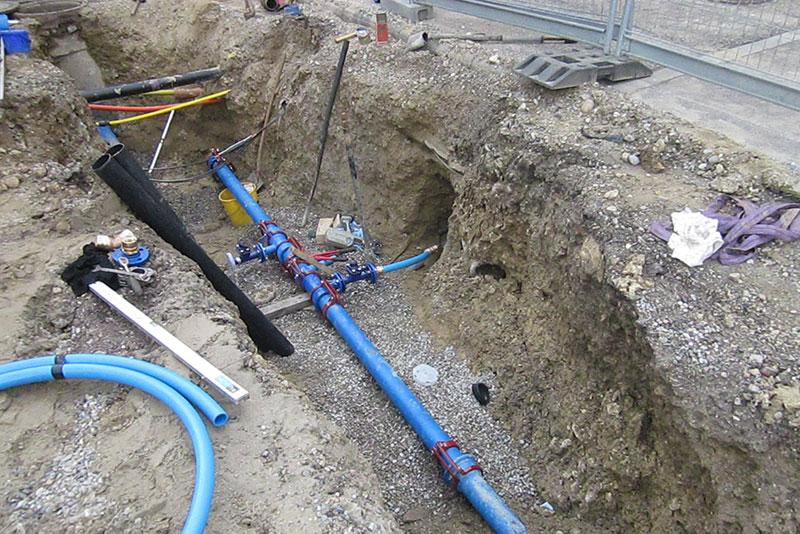 Kanalarbeiten Stoll Bau Todtmoos