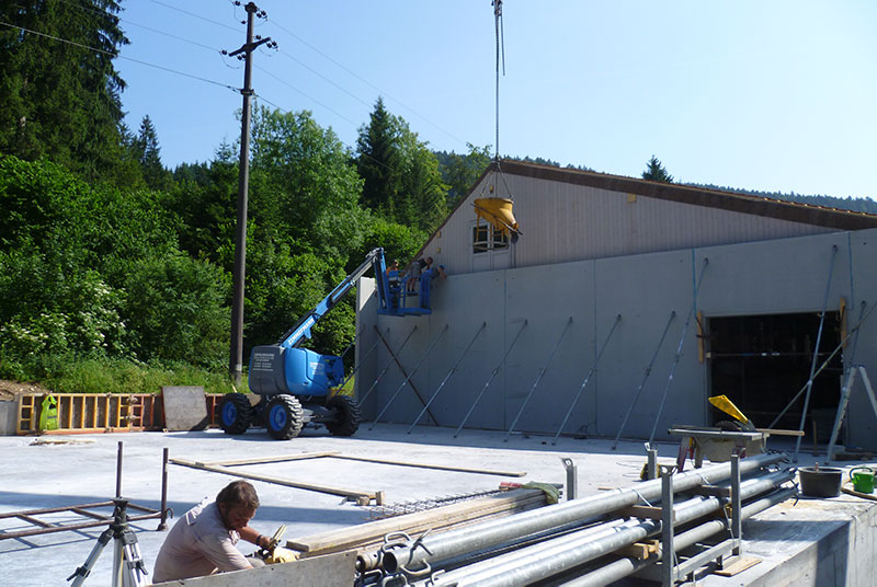 Beton- und Maurerarbeiten Stoll Bau Todtmoos
