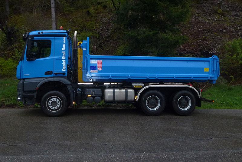 Transport und Container Dienste Stoll Bau Todtmoos